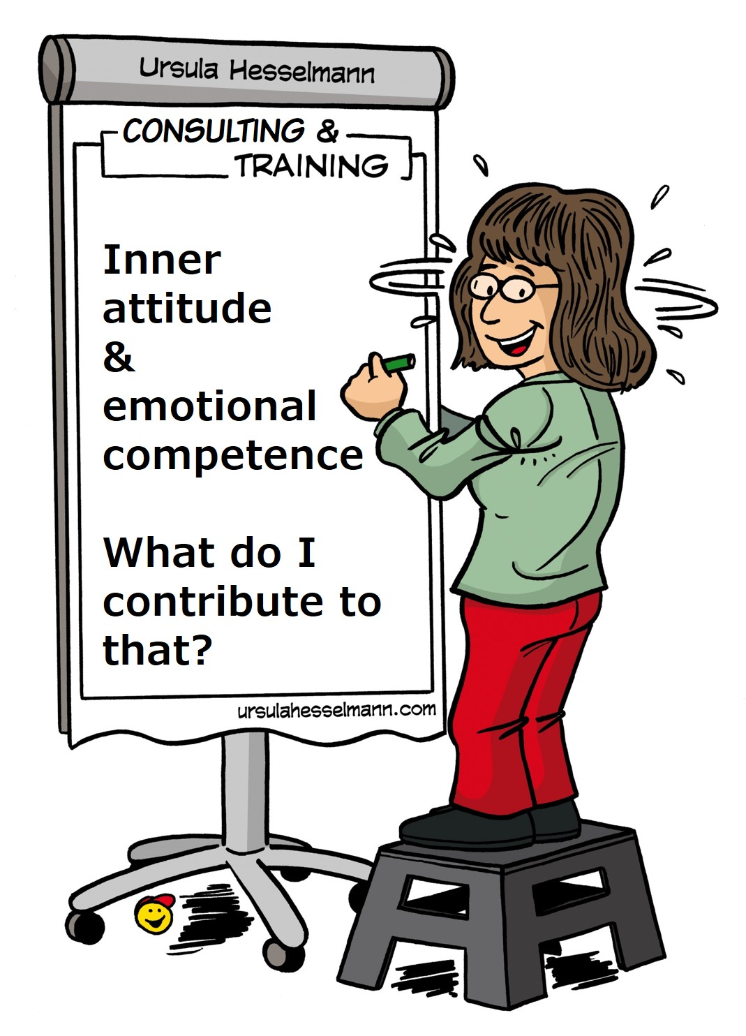 a positive attitude is also emotional competence