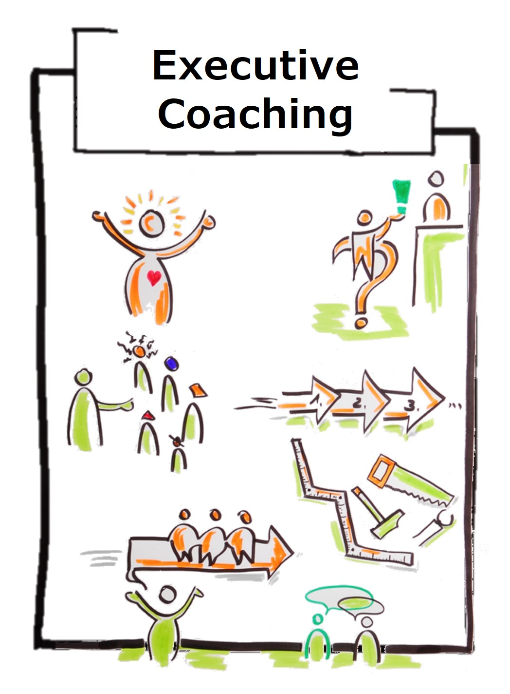 Leadership coaching specifically addresses the requirements and challenges of executives