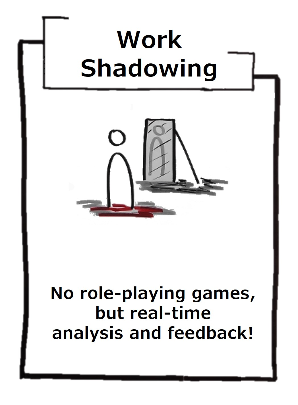 The shadow coaching allows a real and current analysis of the current situation in the company and enables a holistic view of the company