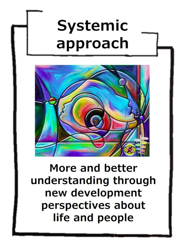 Systemic integral approach is a holistic view of life