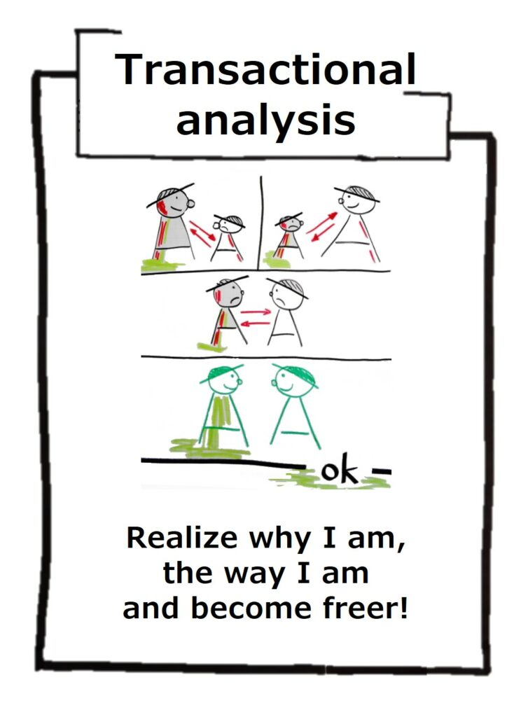 Transactional analysis helps to recognize why I am the way I am